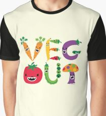 Veg Out - maize Graphic T-Shirt