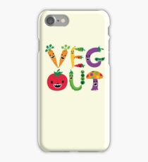 Veg Out - maize iPhone Case/Skin