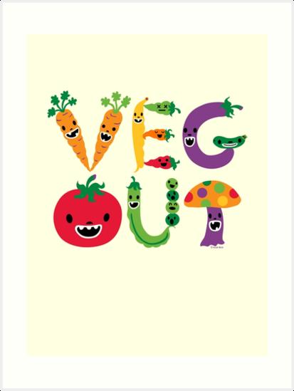 Veg Out - maize by Andi Bird