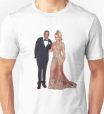 Beyonce and Jay Z Unisex T-Shirt