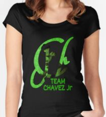 Team Chavez Women's Fitted Scoop T-Shirt