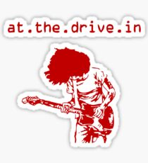 At the Drive-in • Red Sticker