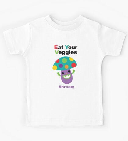 Eat your Veggies shrooms Kids Clothes