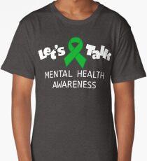 Mental Health Awareness - Let's Talk  Long T-Shirt