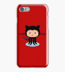 Git Hub Octocat Pixelart iPhone Case/Skin