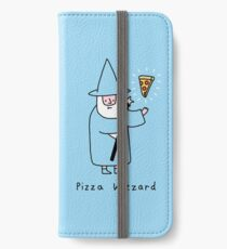 Pizza Wizzard iPhone Flip-Case/Hülle/Klebefolie