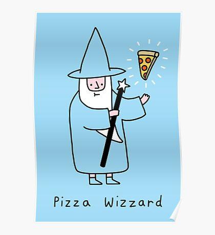 Pizza Wizzard Poster