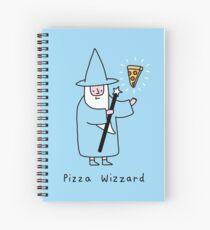 Pizza Wizzard Spiral Notebook