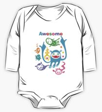 Stay Awesome - light  One Piece - Long Sleeve