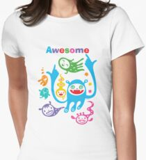 Stay Awesome - light  Women's Fitted T-Shirt