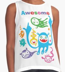 Stay Awesome - light  Contrast Tank