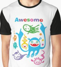 Stay Awesome - light  Graphic T-Shirt