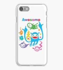 Stay Awesome - light  iPhone Case/Skin