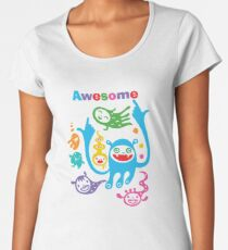 Stay Awesome - light  Women's Premium T-Shirt
