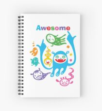 Stay Awesome - light  Spiral Notebook