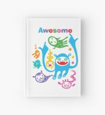 Stay Awesome - light  Hardcover Journal