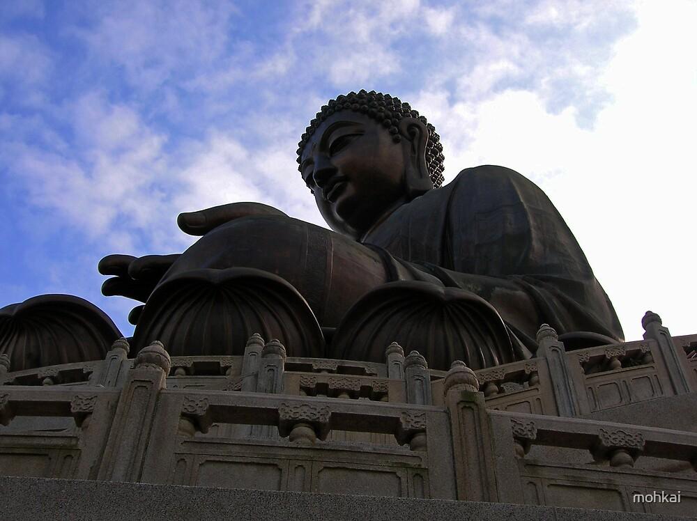 giant buddha by mohkai