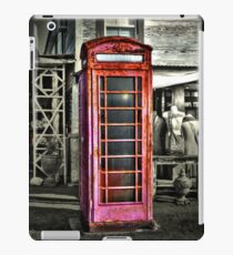 Phone Booth iPad Case/Skin