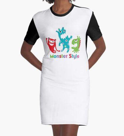 Monster Style - light Graphic T-Shirt Dress