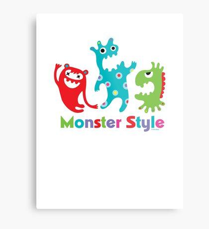 Monster Style - light Metal Print