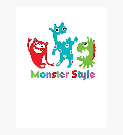 Monster Style - light Photographic Print