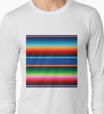 Colourful Mexican Poncho Background T-Shirt