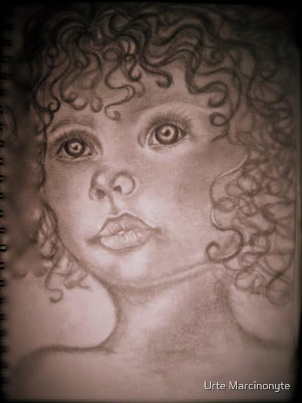 Little Girl by Urte Marcinonyte