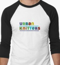 Urban Knitters - blues Men's Baseball ¾ T-Shirt