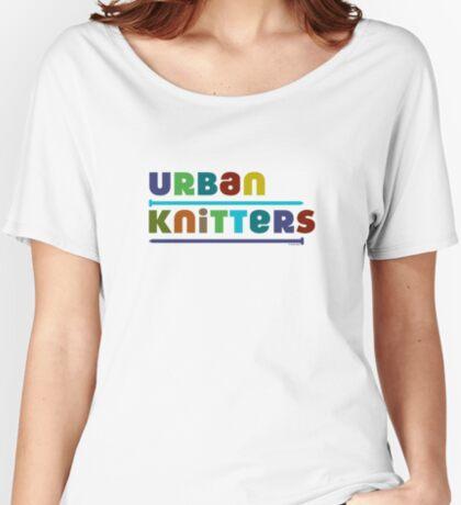 Urban Knitters - blues Women's Relaxed Fit T-Shirt