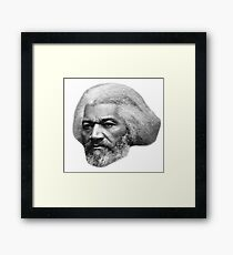 Older Frederick Douglass top quality 1 Framed Print