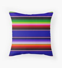 Mexican Poncho Background Throw Pillow