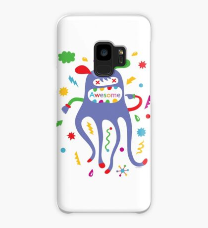 critter awesome - light Case/Skin for Samsung Galaxy