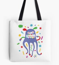 critter awesome - light Tote Bag