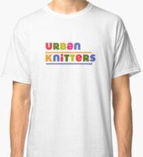 Urban Knitters - golden Classic T-Shirt
