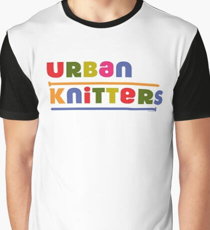 Urban Knitters - golden Graphic T-Shirt