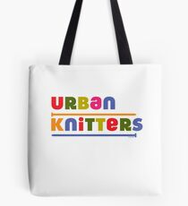 Urban Knitters - golden Tote Bag