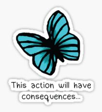 This action will have consequences Sticker