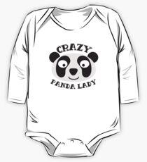 Crazy Panda Lady (New face) One Piece - Long Sleeve