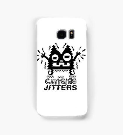 caffeine jitters - cat Samsung Galaxy Case/Skin