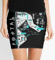 Portal 2 Art Mini Skirt