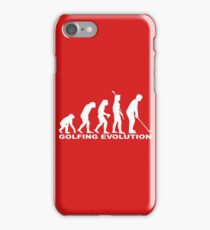 Golfing Evolution iPhone Case/Skin