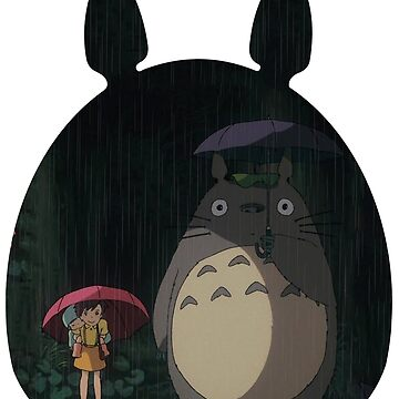 Totoro under the rain by RedXIV