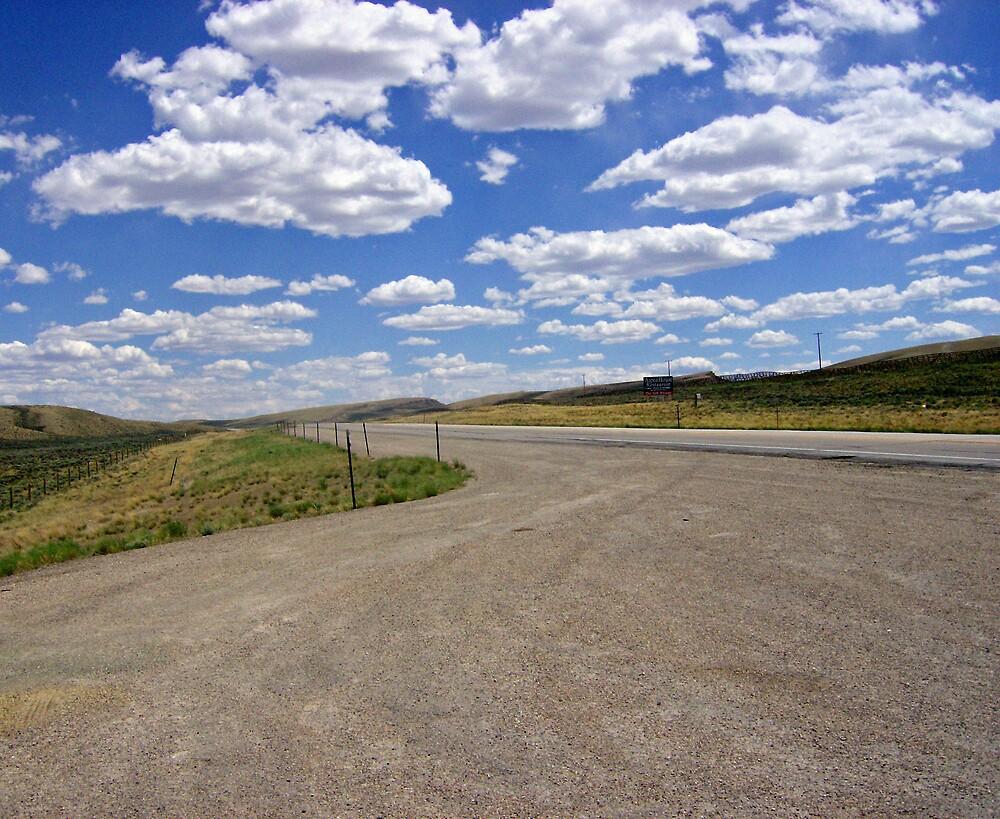 Wyoming Roads by shawnathomas