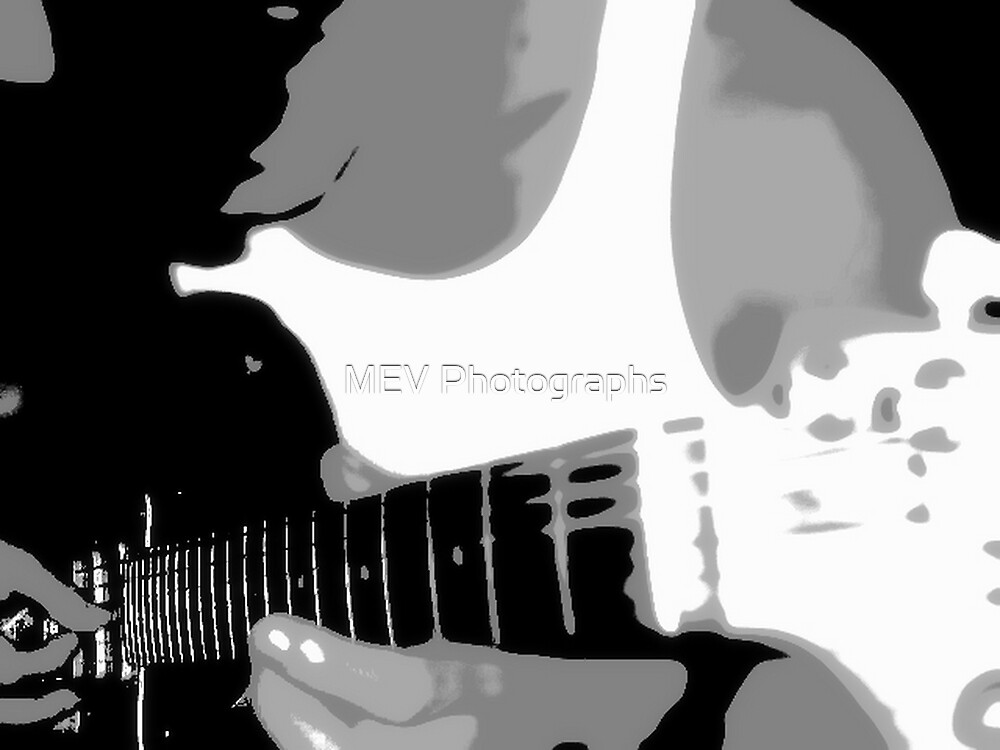 Guitar love by MEV Photographs