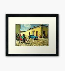 Trinidad Transportation  Framed Print