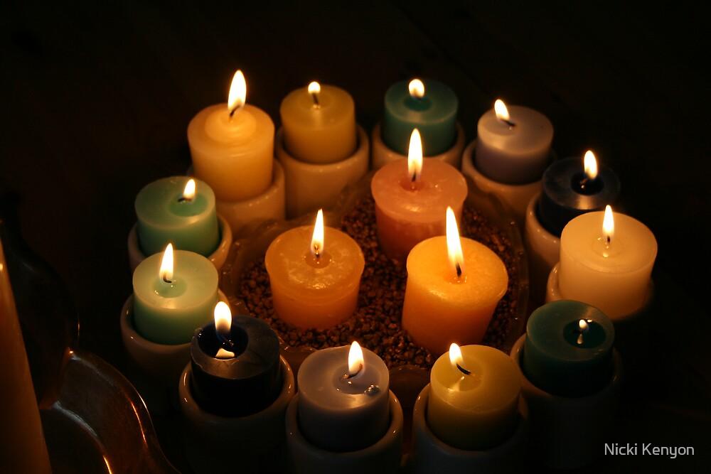 More candles by Nicki Kenyon