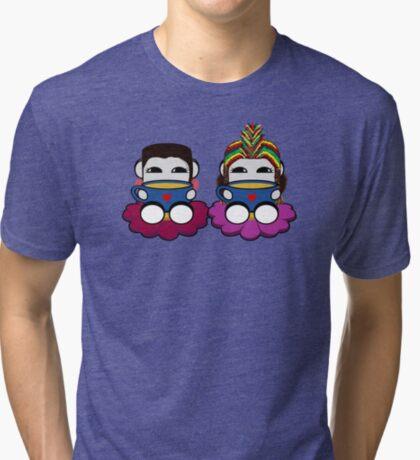 STPC: Naka Do & Oyo Yo (Tea) Tri-blend T-Shirt