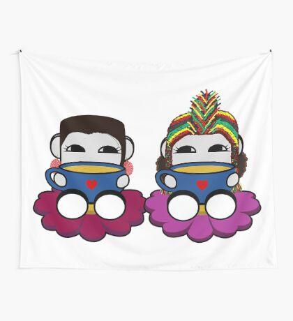 STPC: Naka Do & Oyo Yo (Tea) Wall Tapestry