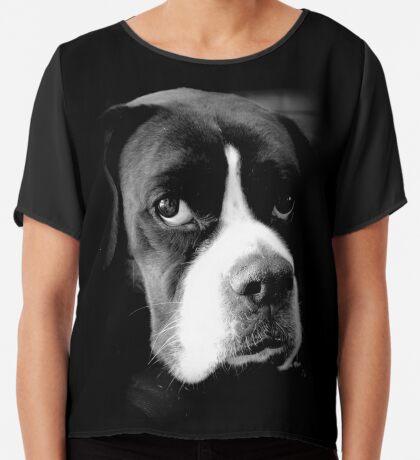 Arwen - Weiblicher Boxer-Hund - Boxer-Hunde-Reihe Chiffontop für Frauen