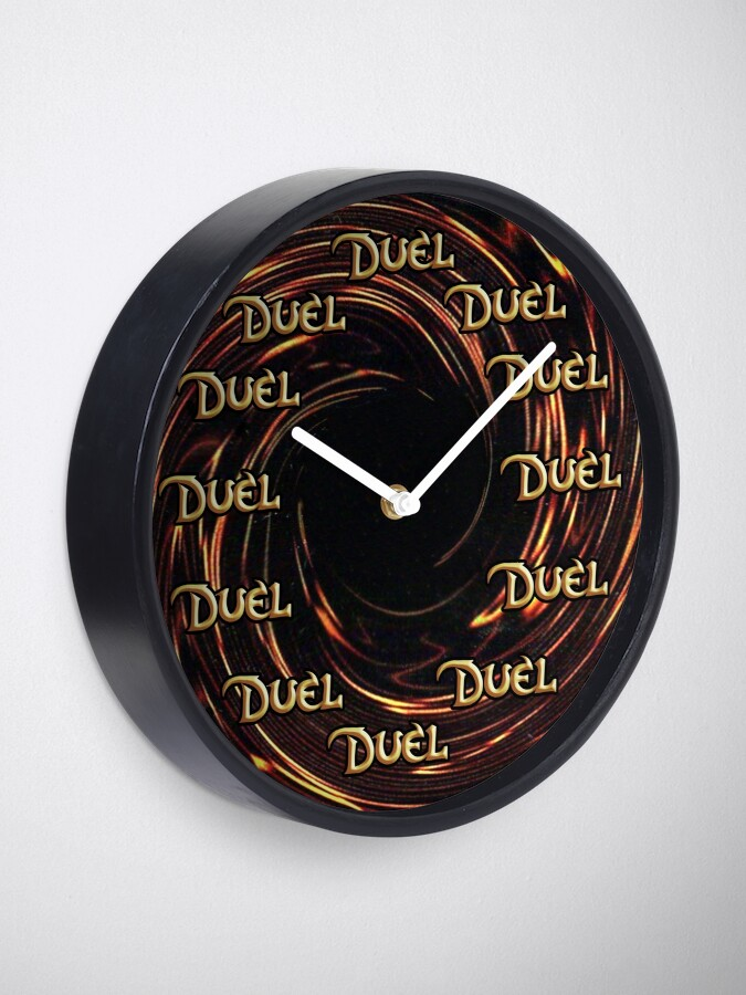 Alternate view of Time to Duel Clock